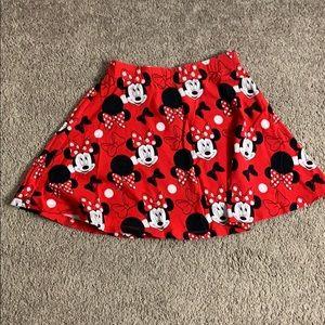 Minnie Mouse mini skirt